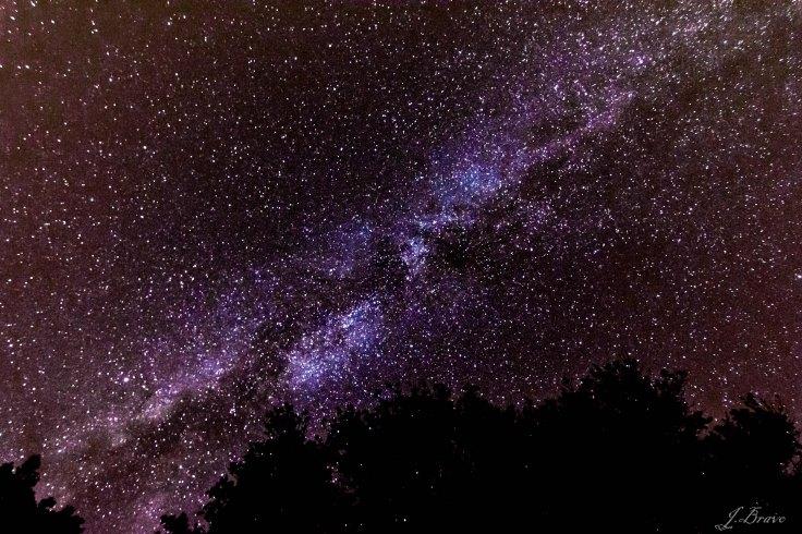10. Vía Láctea en Samaniego