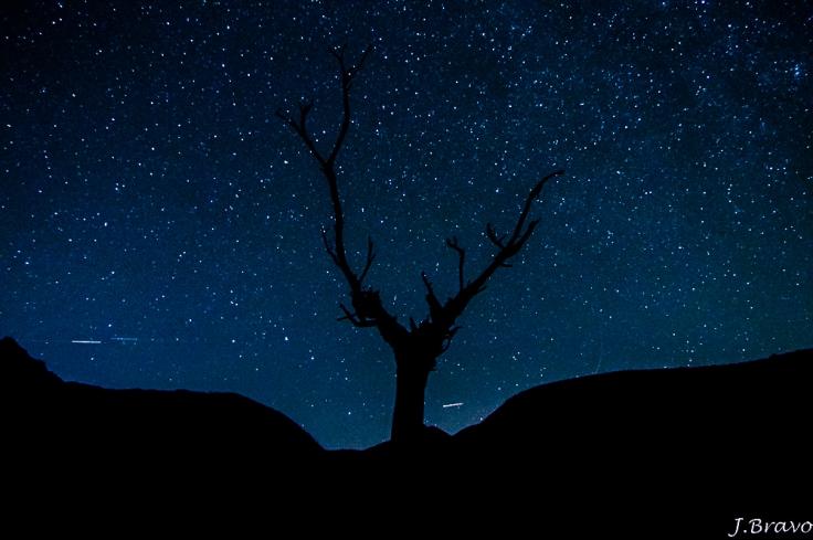 2. Cielo estrellado en el pantano de Mansilla