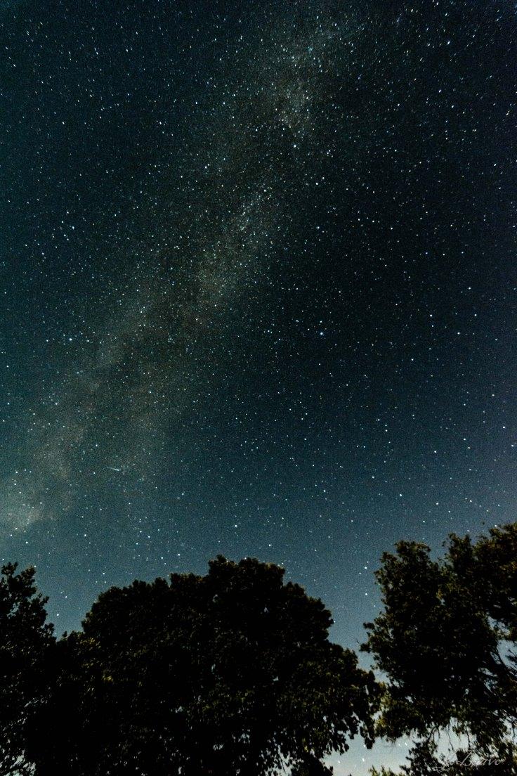 6. Vía Láctea en el municipio de Samaniego